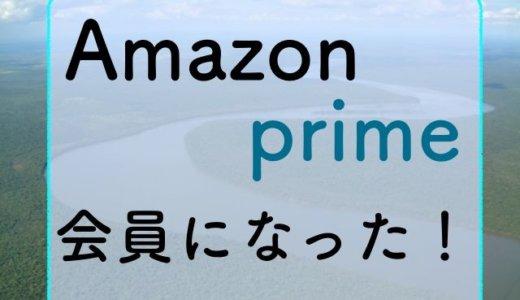 会社を辞めたので、Amazonプライム会員に入りました!なぜ入会したかを説明します!