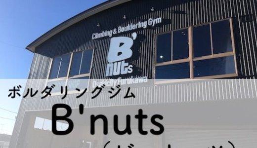 【ジムレビュー】Climbing Gym B'nuts(ビーナッツ) 大崎古川店