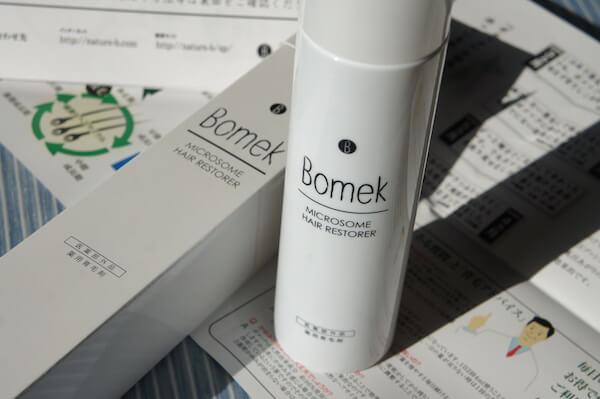 育毛剤 ボメック Bomek ミクロソーム 薄毛 AGA ハゲ 育毛 毛が生える 毛が抜けなくなる 育毛剤で薄毛予防 ヘアケア