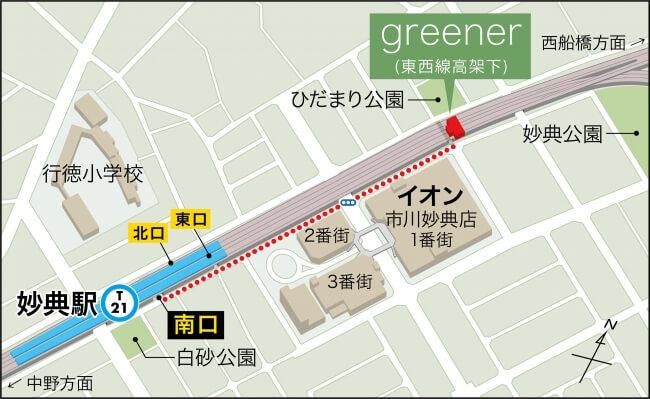 greener ボルダリング ヨガ 妙典駅 妙典